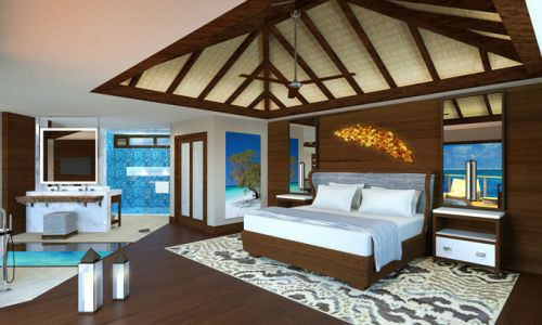 Sandals Royal Caribbean Overwater Villa