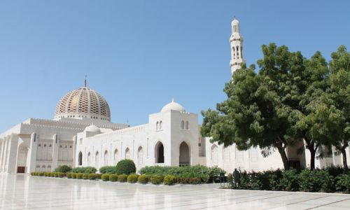Oman Muscat GrandMosque Ext