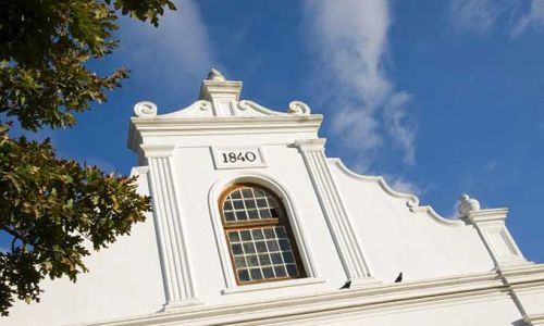 SuedafrikaStellenboschCape Dutch Gable