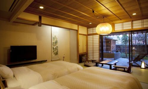 HotelJapanHidatei HanaougiTwin with Garden and Onsen